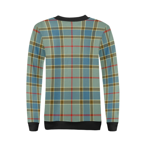 Image of Balfour Blue Tartan Women's Sweatshirt H01