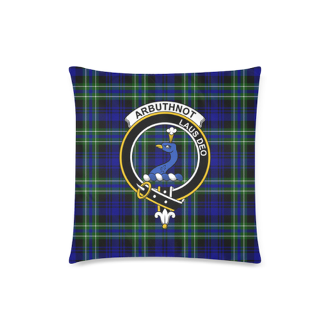 Arbuthnot Clan Badge Tartan Pillow Cover