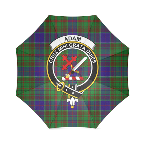 Image of Adam  Clan Badge Tartan Umbrella