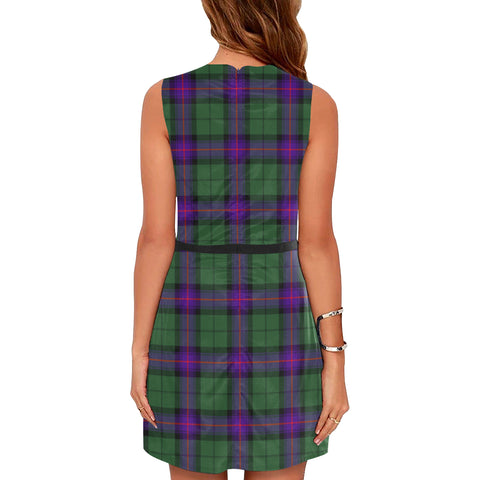 Armstrong Modern Tartan Sleeveless Dress H01