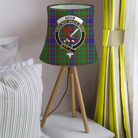 Adam Clan Badge Tartan Lamp Shades