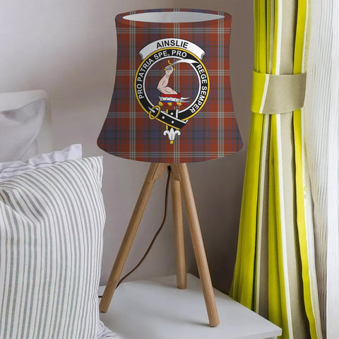 Ainslie Clan Badge Tartan Lamp Shades