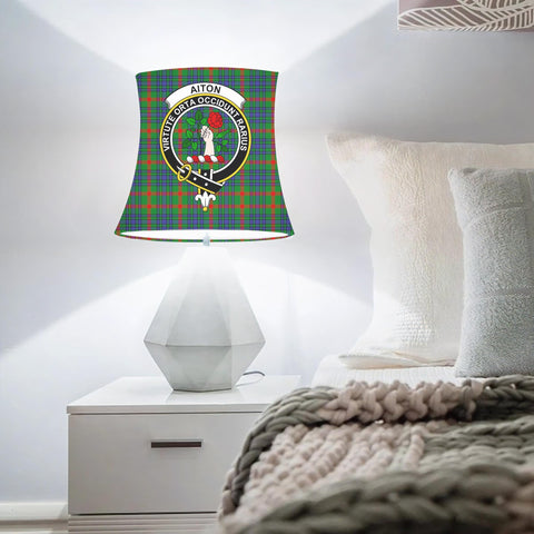 Aiton Clan Badge Tartan Lamp Shades