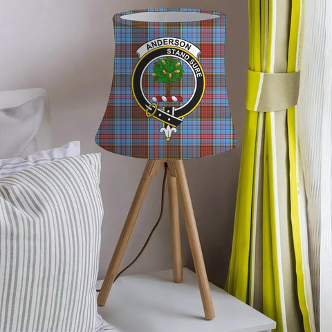 Anderson Clan Badge Tartan Lamp Shades
