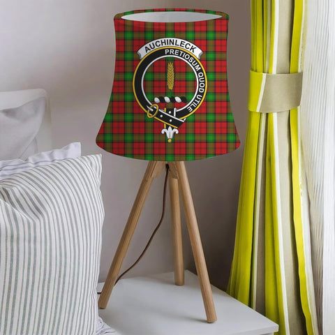Auchinleck Or Affleck Clan Badge Tartan Lamp Shades