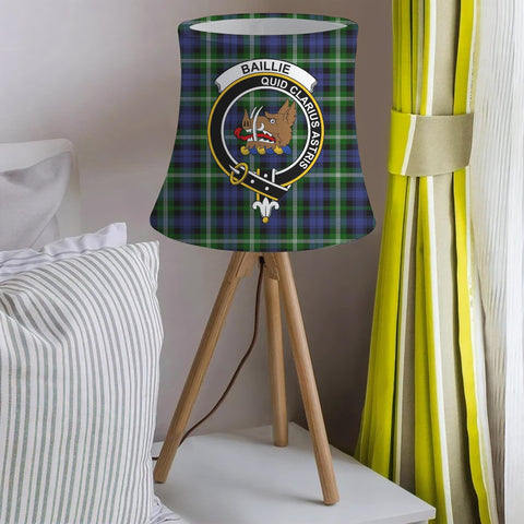 Baillie Clan Badge Tartan Lamp Shades