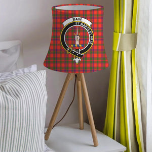 Bain Clan Badge Tartan Lamp Shades