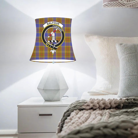 Balfour Clan Badge Tartan Lamp Shades