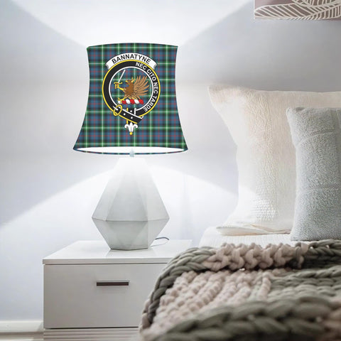 Bannatyne Clan Badge Tartan Lamp Shades