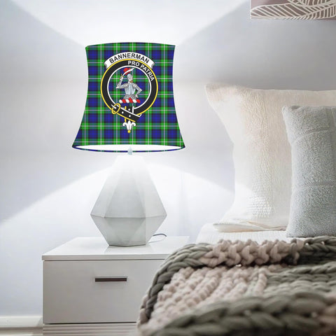 Bannerman Clan Badge Tartan Lamp Shades