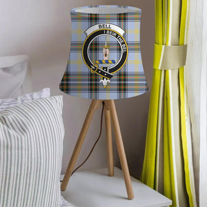 Bell Clan Badge Tartan Lamp Shades
