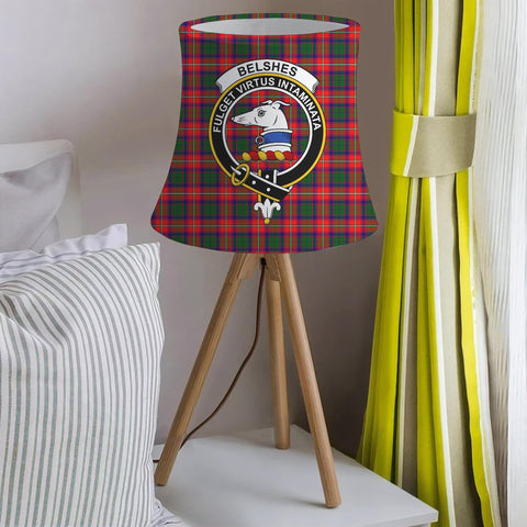 Belshes Clan Badge Tartan Lamp Shades