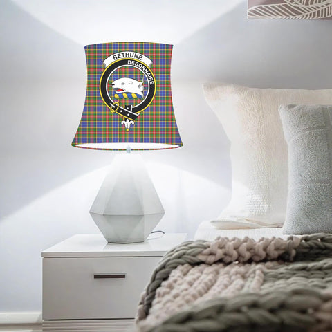 Bethune Clan Badge Tartan Lamp Shades