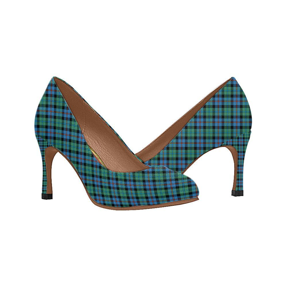 Campbell Of Breadalbane Ancient Tartan Women High Heels