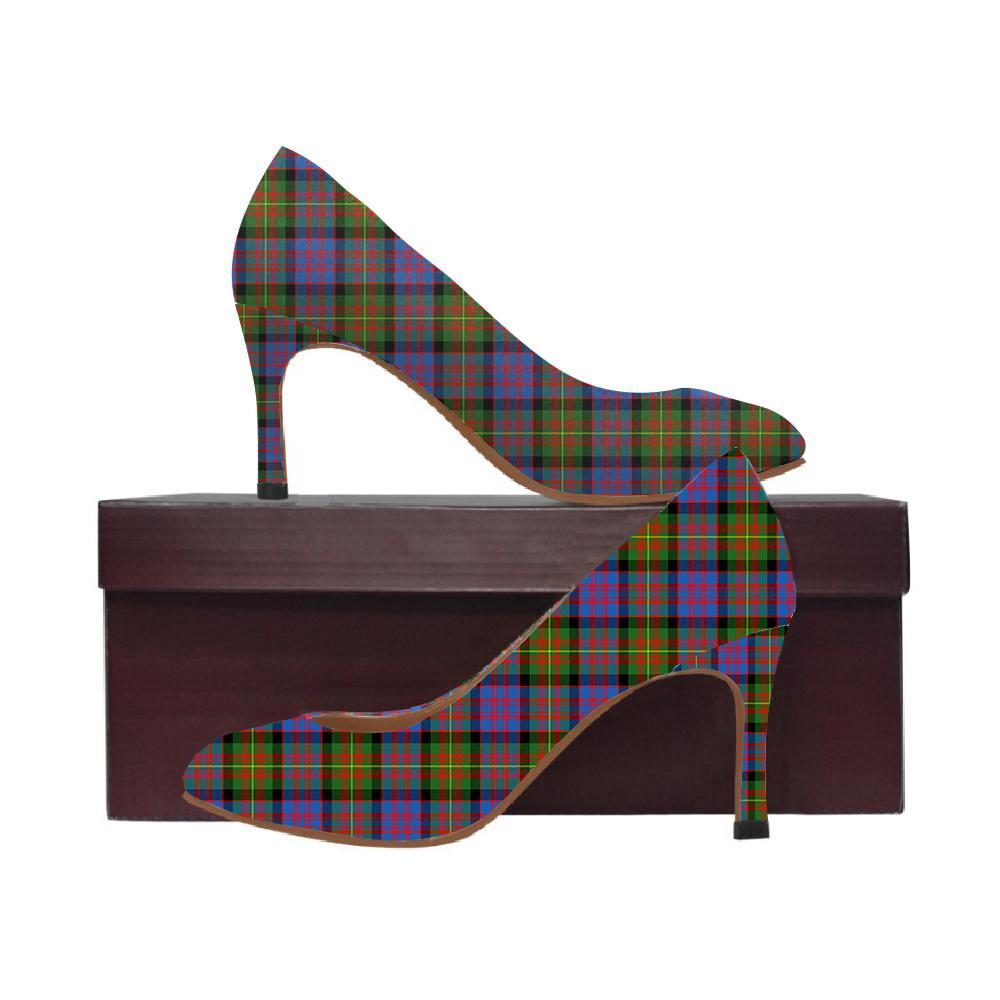 Carnegie Ancient Tartan Women High Heels
