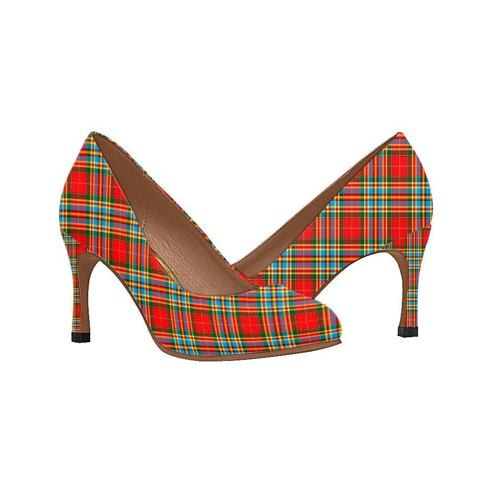 Chattan Tartan Women High Heels