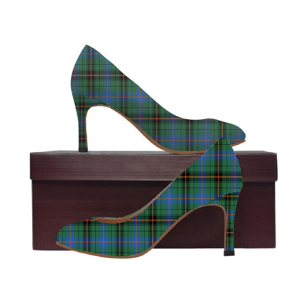 Davidson Ancient Tartan Women High Heels
