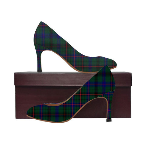 Image of Davidson Modern Tartan Women High Heels