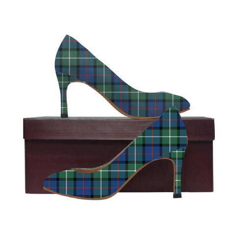 Image of Davidson Of Tulloch  Tartan Women High Heels