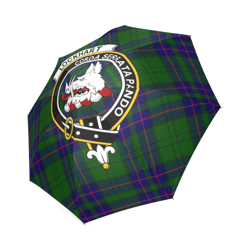 Lockhart Clan Badge Tartan Umbrella