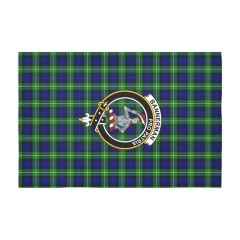 Image of Bannerman  Clan Badge Tartan TableCloths