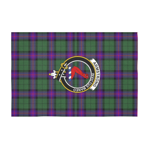 Image of Armstrong Clan Badge Tartan TableCloths