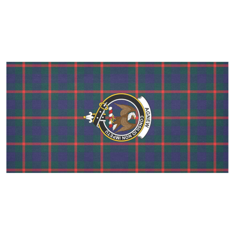 Image of Agnew Clan Badge Tartan TableCloths