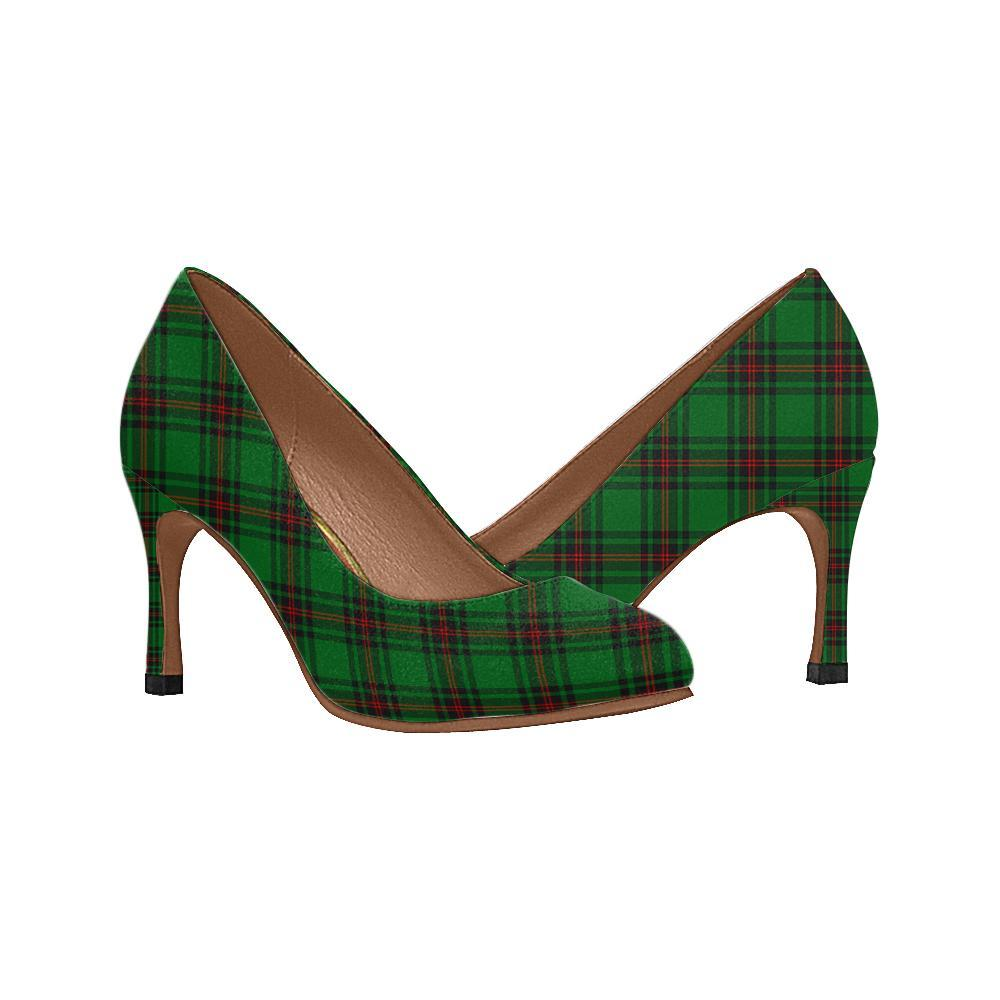 Fife District Tartan Women High Heels