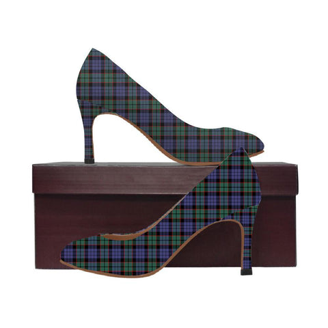Image of Fletcher Modern Tartan Women High Heels