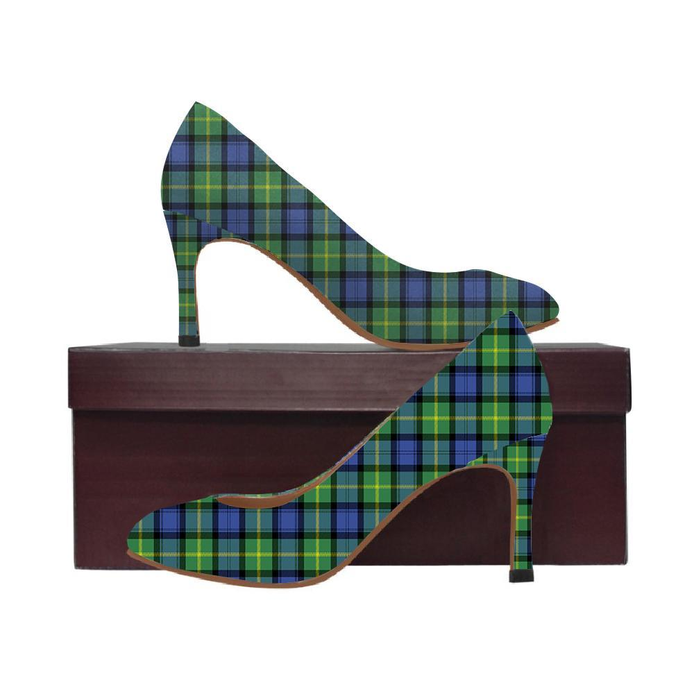Gordon Old Ancient Tartan Women High Heels