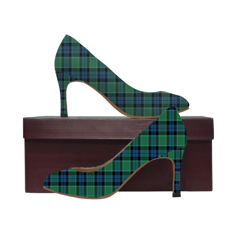 Graham Of Menteith Ancient Tartan Women High Heels