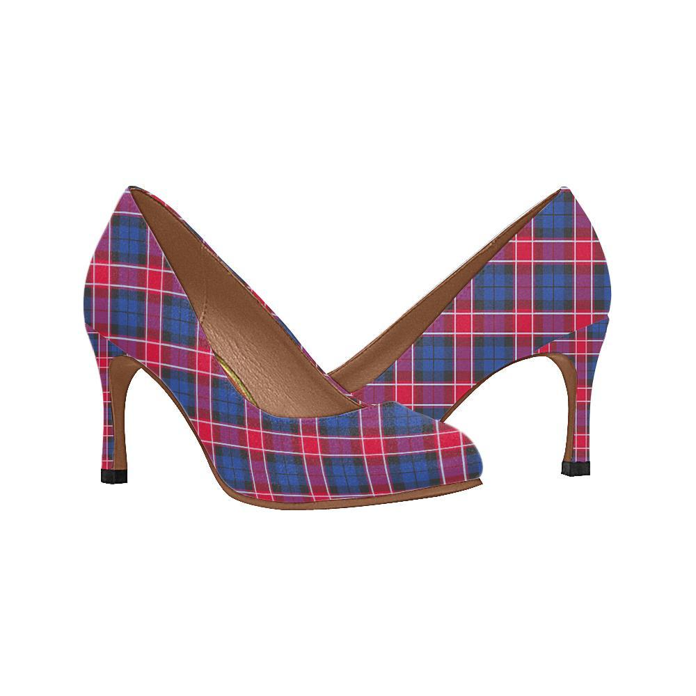 Graham Of Menteith Red Tartan Women High Heels