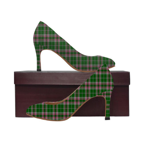Image of Gray Hunting Tartan Women High Heels