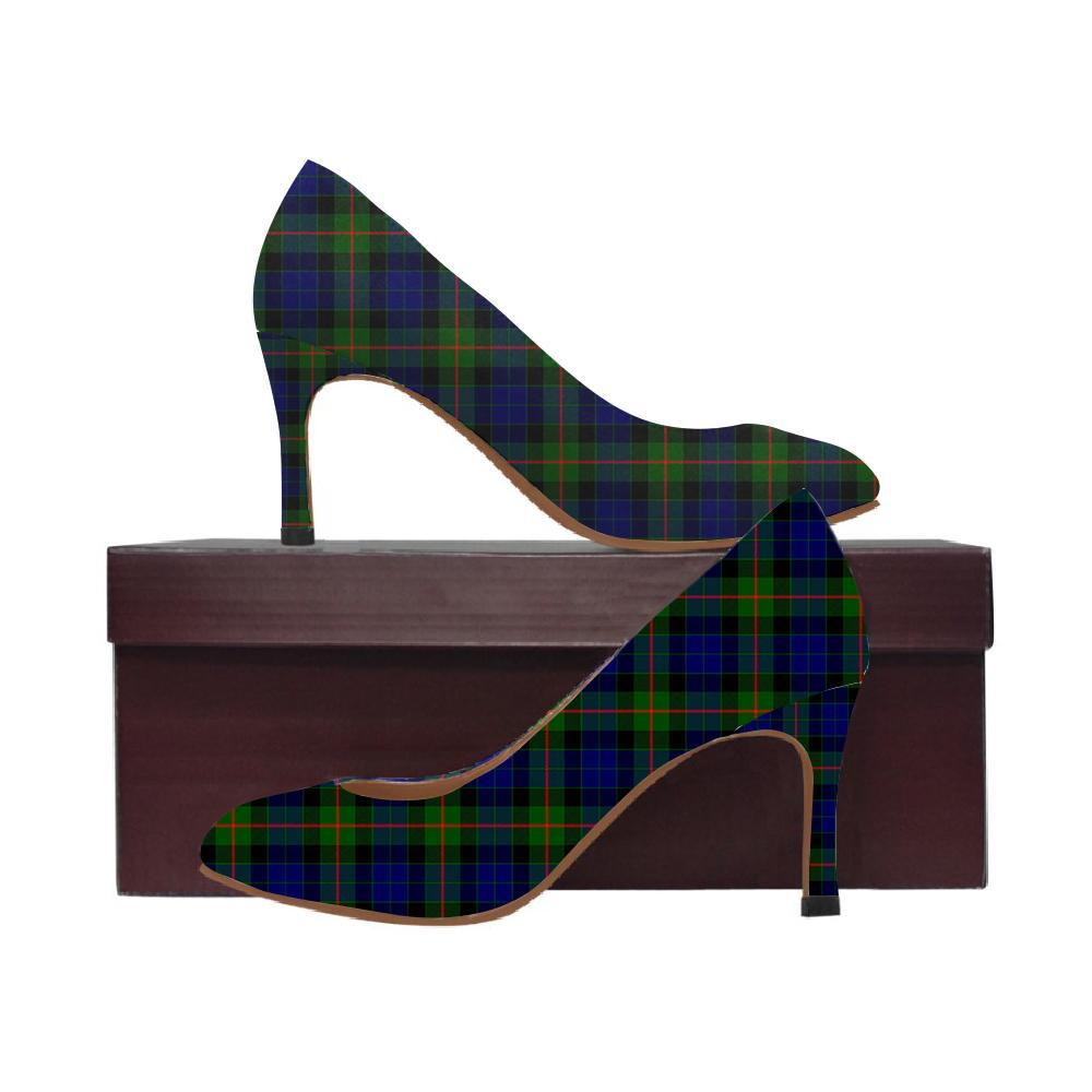 Gunn Modern Tartan Women High Heels