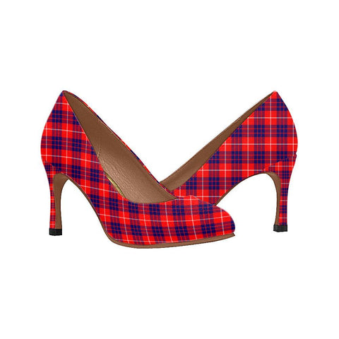 Image of Hamilton Modern Tartan Women High Heels