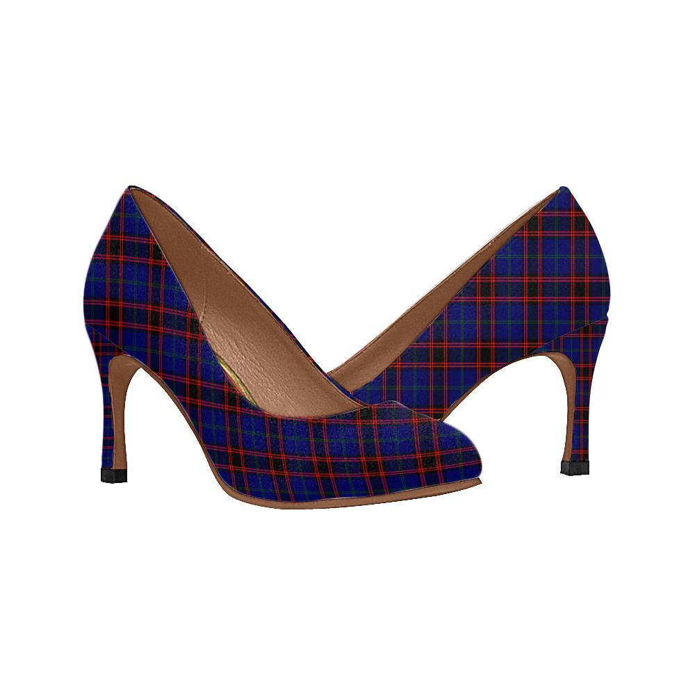 Home Modern Tartan Women High Heels