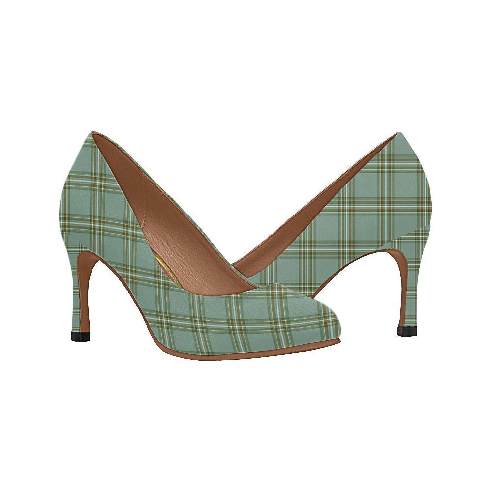 Kelly Dress Tartan Women High Heels