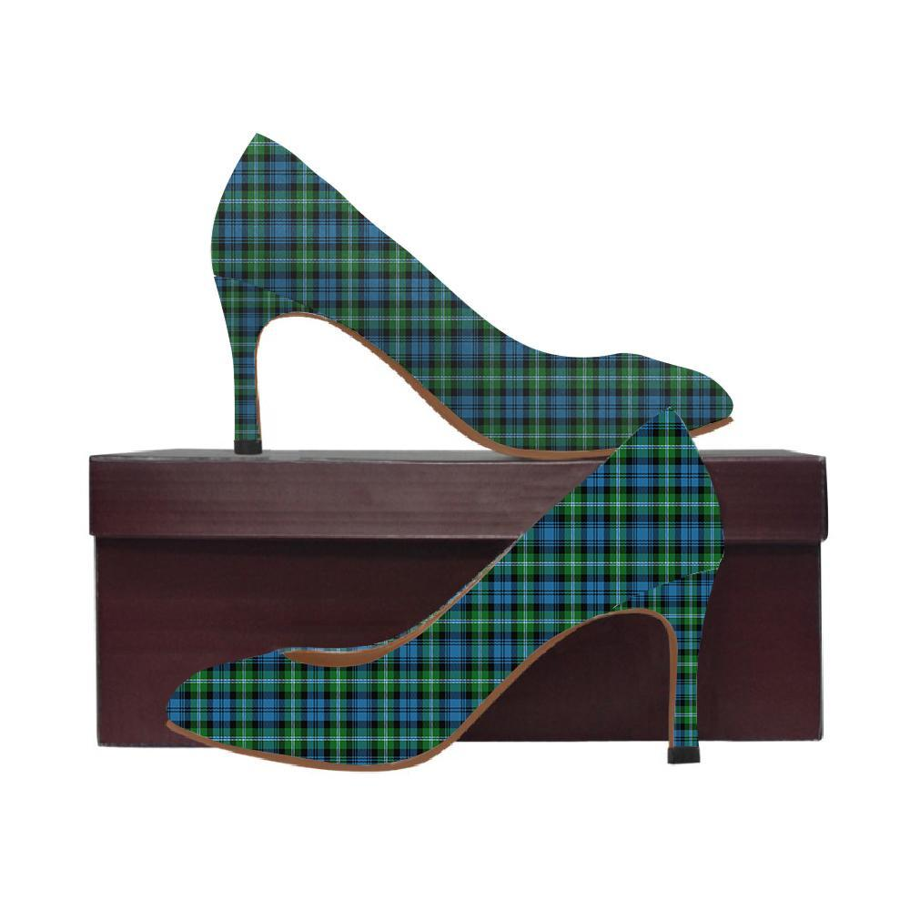 Lyon Clan Tartan Women High Heels
