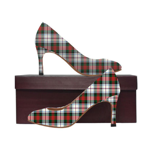 Image of Macduff Dress Modern Tartan Women High Heels