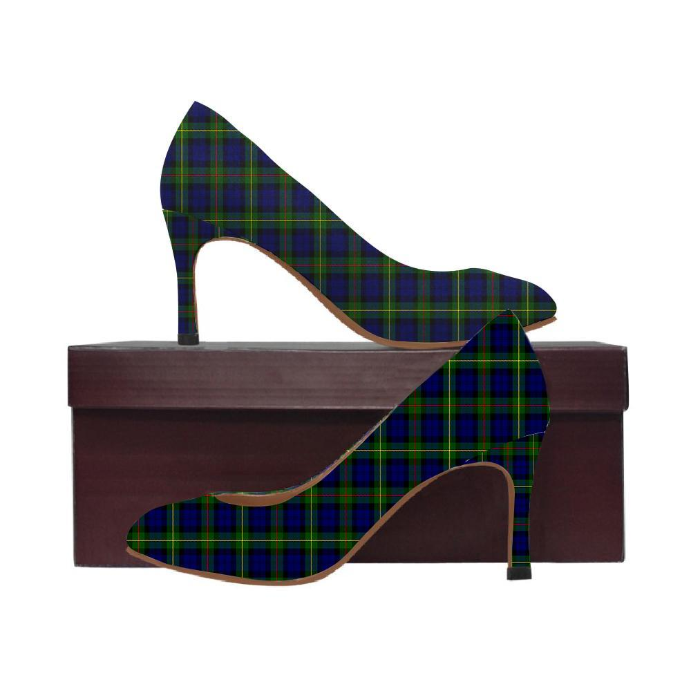 Macewen Modern Tartan Women High Heels