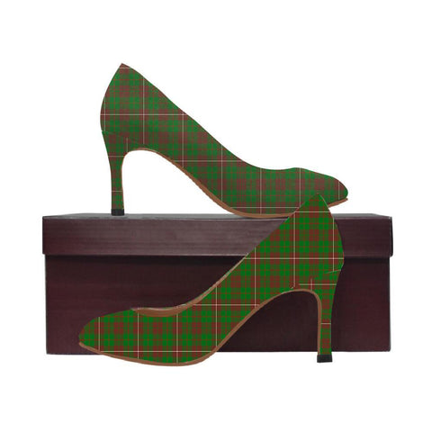 Image of Mackinnon Hunting Modern Tartan Women High Heels
