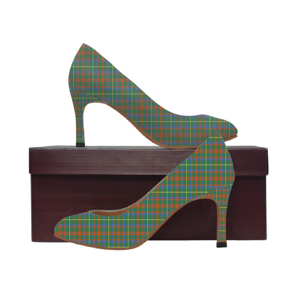 Mackintosh Hunting Ancient Tartan Women High Heels