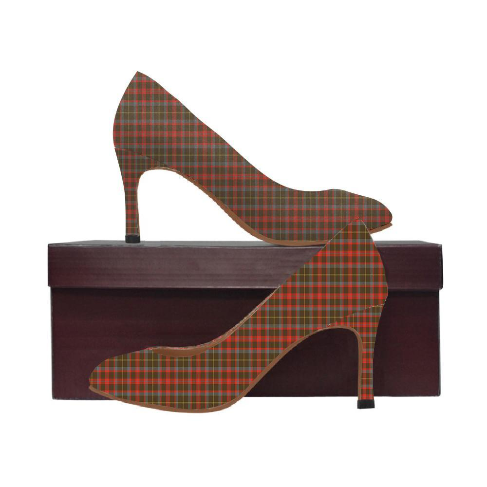 Mackintosh Hunting Weathered Tartan Women High Heels