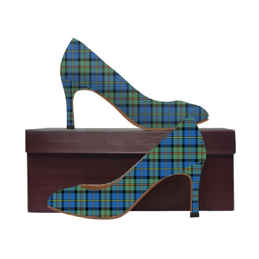Macleod Of Harris Ancient Tartan Women High Heels