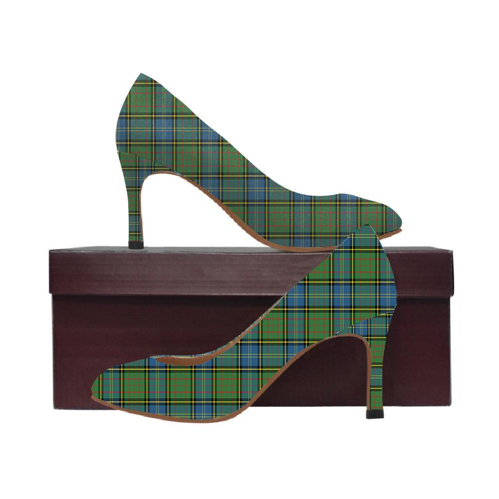 Macmillan Hunting Ancient Tartan Women High Heels