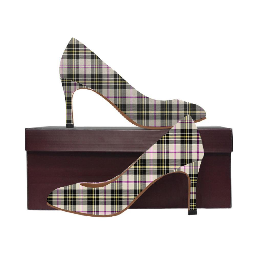 Macpherson Dress Ancient Tartan Women High Heels