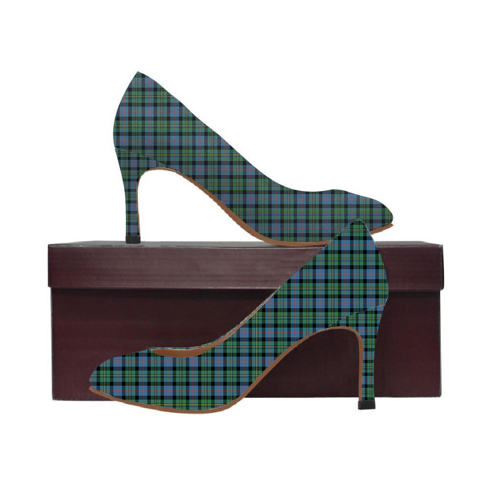 Malcolm Ancient Tartan Women High Heels