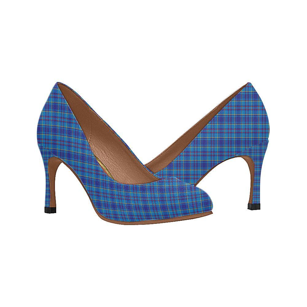 Mercer Modern Tartan Women High Heels
