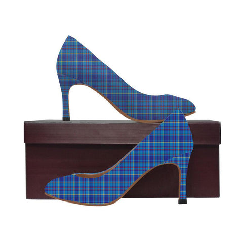 Image of Mercer Modern Tartan Women High Heels