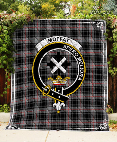 Image of Moffat  Clan Badge Tartan Blanket
